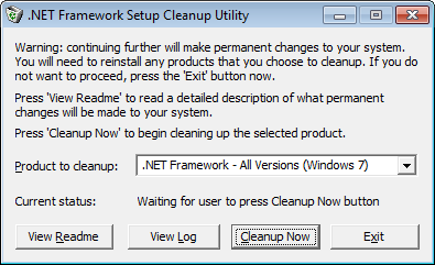 net-framework-cleanup-tool
