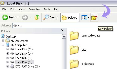 new-folder-windows-xp