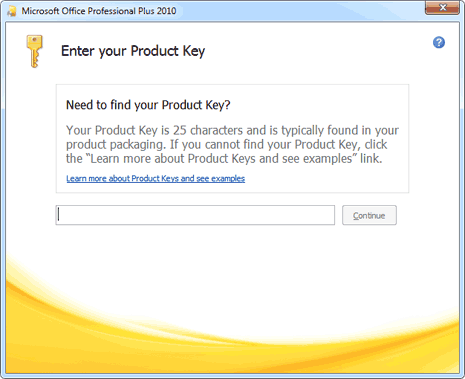 Office Tips: cambiare il product key di MS Office 2010