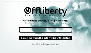 Accedere a contenuti online con Offliberty