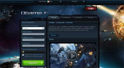 OGame, la nuova frontiera del gioco online