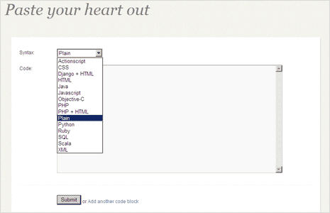 online-editor-paste-code