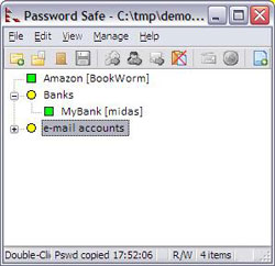 Password Safe - Portable Password Manager