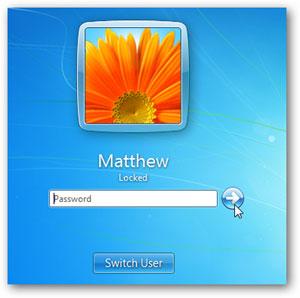 Impostare password windows