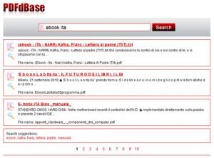 motore di ricerca per PDF