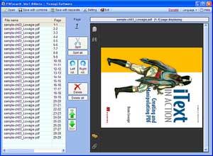 PDForsell, programma per dividere, unire o ruotare PDF