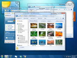 Alcune Immagini screenshot di Windows 7