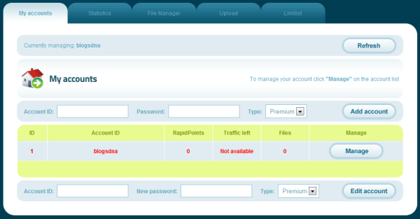 plim-rapidshare-account-manager