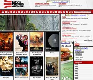 Movie Posters Archive, locandine dei film a portata di mano