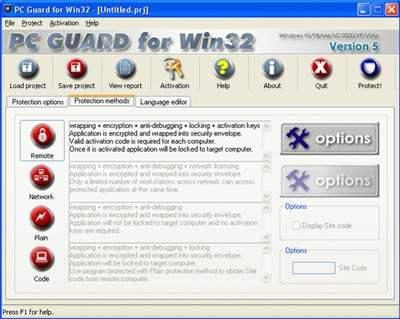 Proteggere file .exe da virus