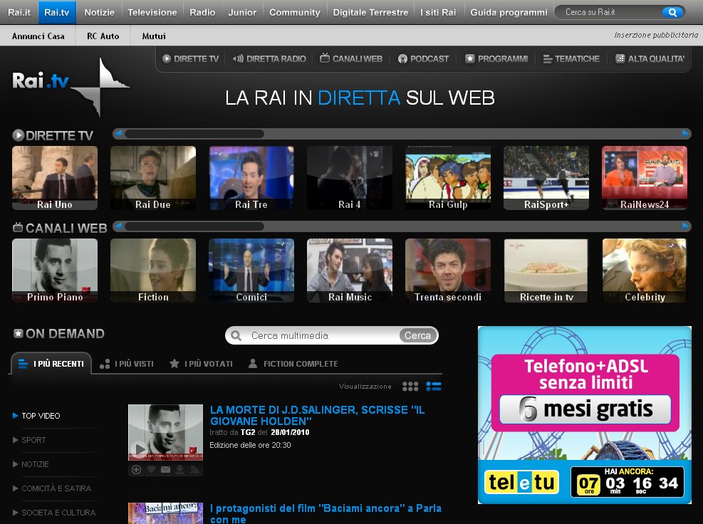 rai tv streaming
