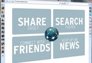 RockMelt: browser sociale