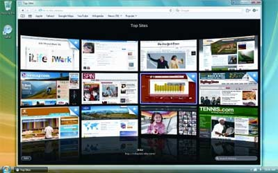 Trucchi Safari 4:aggiungere un sito ai Top Sites e rispristinare sessioni di navigazione