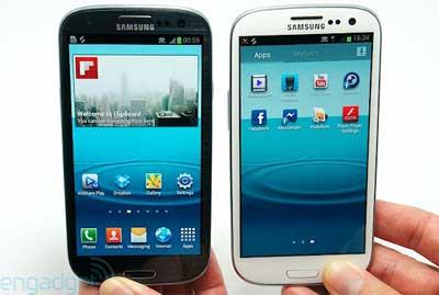 Samsung Galaxy S III nero!