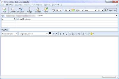 Programmare l'invio delle email con Thunderbird
