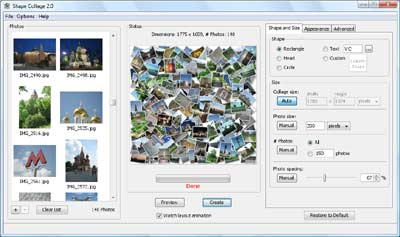 Creare collage per poster con windows/mac/linux