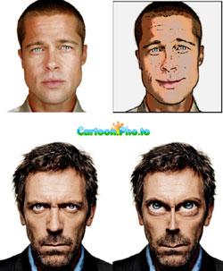 Cartoon.pho.to: cambiare espressione facciale