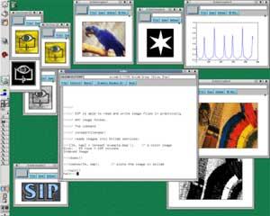 Modifica delle immagini con SIP