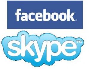 accordo skype e facebook