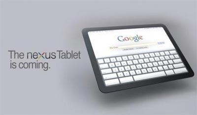 Tablet Google Nexus: nuove indiscrezioni