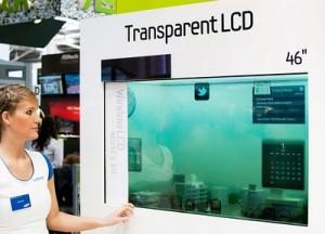 LCD trasparente
