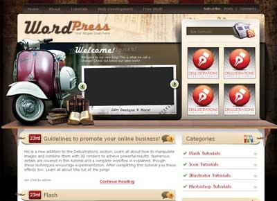 Scaricare 230 temi wordpress premium gratis