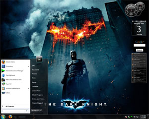 Windows7 The Dark Knight Theme