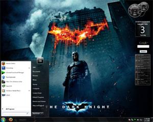 Windows7 The Dark Knight Theme