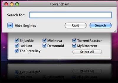 Cercare torrent senza software su Mac