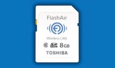 Flashair, la SDHC che si collega a Wi-Fi