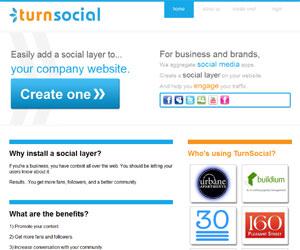 Barra sociale da inserire nel blog: TurnSocial