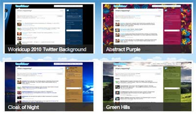 Temi per Twitter su Twitter Gallery