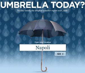 Porto l'ombrello oggi? (meteo pc tool)