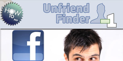 Amicizie cancellate su Facebook: Unfriend Finder