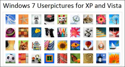 Download 36 USER ACCOUNT PICTURES Windows 7 Build 7057
