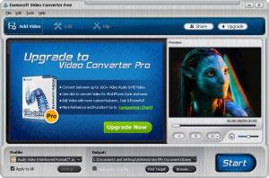 Programma di conversione video, Daniusoft Video Converter Free