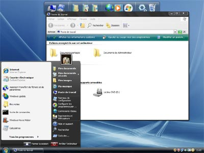 Vista Inspirat 2 Ultimate: Trasforma xp in windows vista
