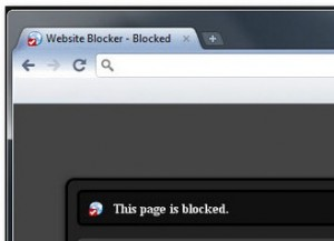bloccare siti indesiderati