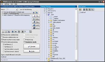 Wild Rename, un'applicazione che permette di rinominare gruppi di file di Windows contemporaneamente