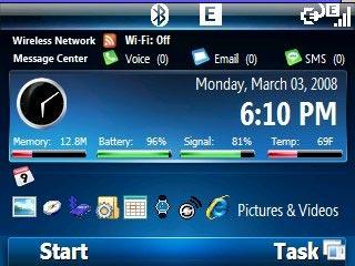 Windows Mobile 7 Theme Smartphone