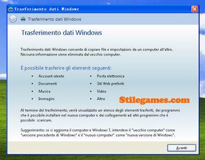 Aggiornare da Microsoft Window Xp a Windows 7