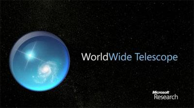 Viaggiare tra le stelle con Microsoft Telescope