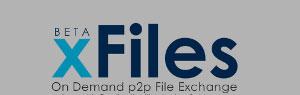 xFiles, condivisione di file online via P2P