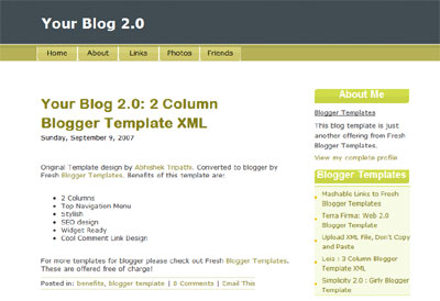 Your Blog 2.0